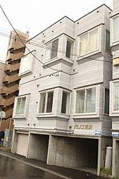 北海道札幌市東区北二十二条東16丁目の賃貸アパートの外観