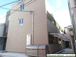 大阪府柏原市清州1丁目の賃貸アパートの外観