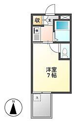 ドール栄5丁目[3階]の間取り