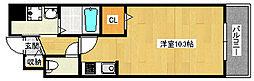 ハッピーライフ[2階]の間取り