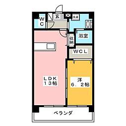 セントラルコート千代田[3階]の間取り