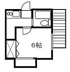 埼玉県さいたま市緑区原山3丁目の賃貸アパートの間取り