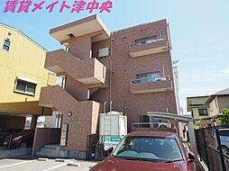三重県津市栄町4丁目の賃貸マンションの外観