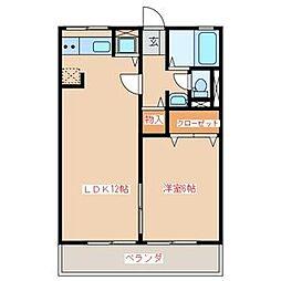 アーバンフラット山田[B-203号室]の間取り