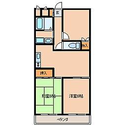 東京都江戸川区西葛西7丁目の賃貸マンションの間取り