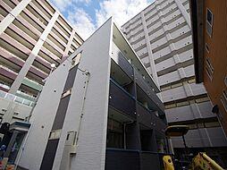 栃木県宇都宮市松が峰2丁目の賃貸アパートの外観