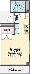 静岡県三島市西本町の賃貸マンションの間取り
