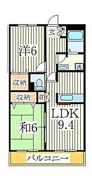 コンフォース2[1階]の間取り