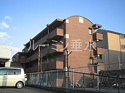 ニューバーリヤ学院坂[3階]の外観