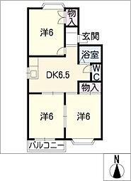 メゾンアメニティ[2階]の間取り