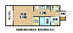 MDIミルファルコ下曽根駅前[5階]の間取り