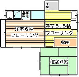 メゾン愛花夢[3階]の間取り