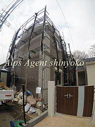 神奈川県横浜市神奈川区三ツ沢南町の賃貸アパートの外観