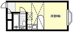PACEII[102号室]の間取り