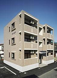栃木県宇都宮市大和3丁目の賃貸マンションの外観