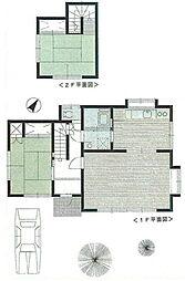 [一戸建] 埼玉県上尾市大字上尾村 の賃貸【/】の間取り