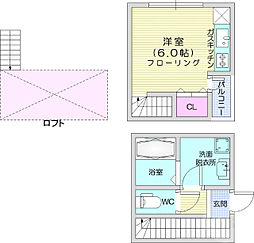 旭ヶ丘駅 5.2万円