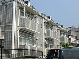 京都府京都市左京区一乗寺馬場町の賃貸アパートの外観