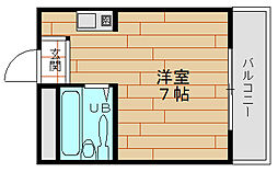 H2O市岡元町[7階]の間取り