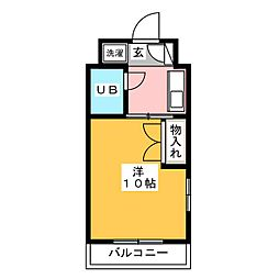 サイレント24[3階]の間取り