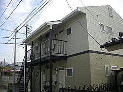 山梨県甲府市塩部1丁目の賃貸アパートの外観
