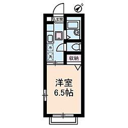 ブリダンテ瀬田[1階]の間取り