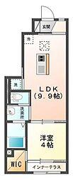 木更津市金田東1丁目新築アパート[103号室]の間取り