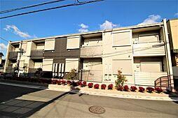 大阪府八尾市曙川東2丁目の賃貸アパートの外観