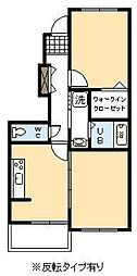 マーベラス ヒル Ⅱ[1階]の間取り
