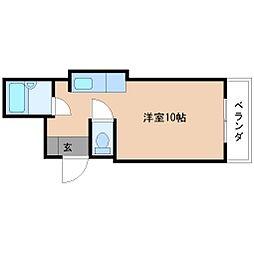 大美コーポ[2階]の間取り