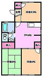 ソフィア青木場[1階]の間取り