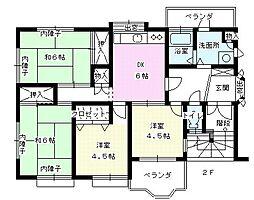 千葉アパート[2F号室]の間取り
