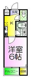 パレロイヤル堺[4階]の間取り