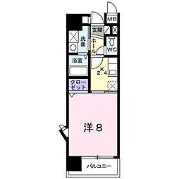 K2[401号室]の間取り
