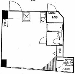 パークノヴァ巣鴨[2階]の間取り