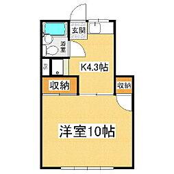 アピア・マツシマ[2階]の間取り