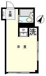 内海ハウス[101号室]の間取り