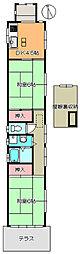 [一戸建] 兵庫県尼崎市西長洲町2丁目 の賃貸【/】の間取り