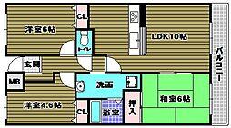 サンコート千代田[3階]の間取り