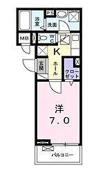 リビエ たま[1階]の間取り