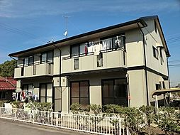 愛知県安城市古井町軽桶の賃貸アパートの外観