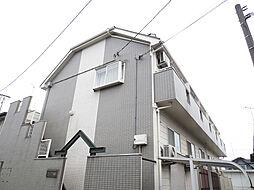 埼玉県深谷市緑ケ丘の賃貸アパートの外観