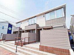 東京都東久留米市学園町1丁目の賃貸アパートの外観