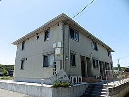 山口県山陽小野田市大字郡の賃貸アパートの外観
