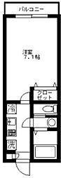MAISON SOLEIL[101号室]の間取り