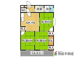 第2糸山ビル[303号室]の間取り