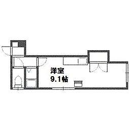 北海道札幌市白石区東札幌三条4丁目の賃貸アパートの間取り