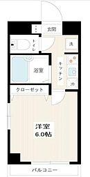 東京都豊島区南長崎1丁目の賃貸マンションの間取り