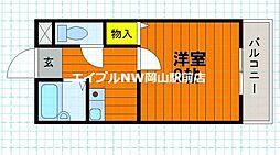 グランシャリオ津高弐番館[2階]の間取り