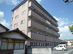 岡山県総社市中央6の賃貸アパートの外観